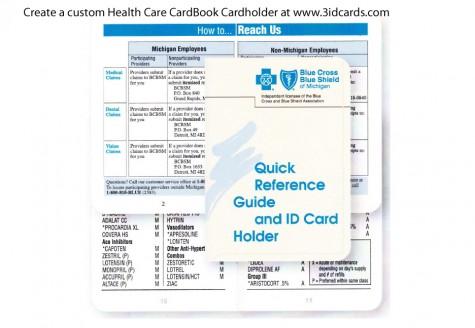 HealthCare CardBook Cardholder