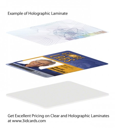 holographic laminate