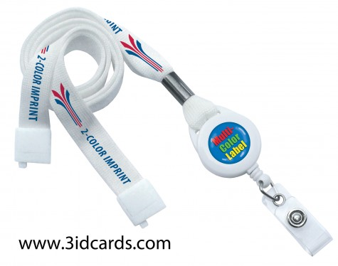 Customized Lanyard Badge Reel Combination