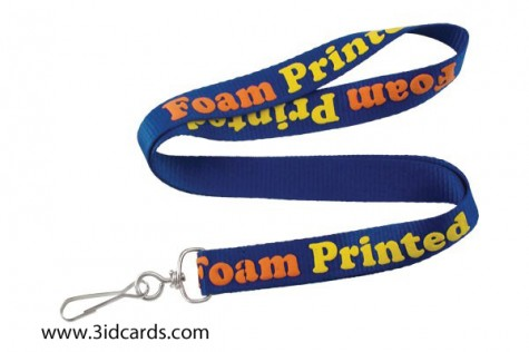 Foam imprinting makes your lanyards pop!