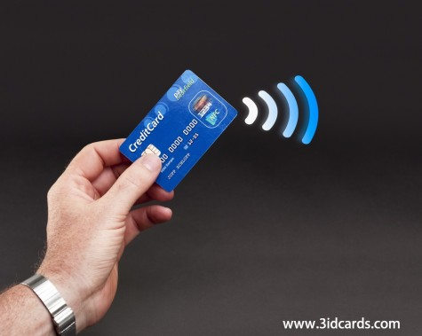Credit card with RFID technoloy